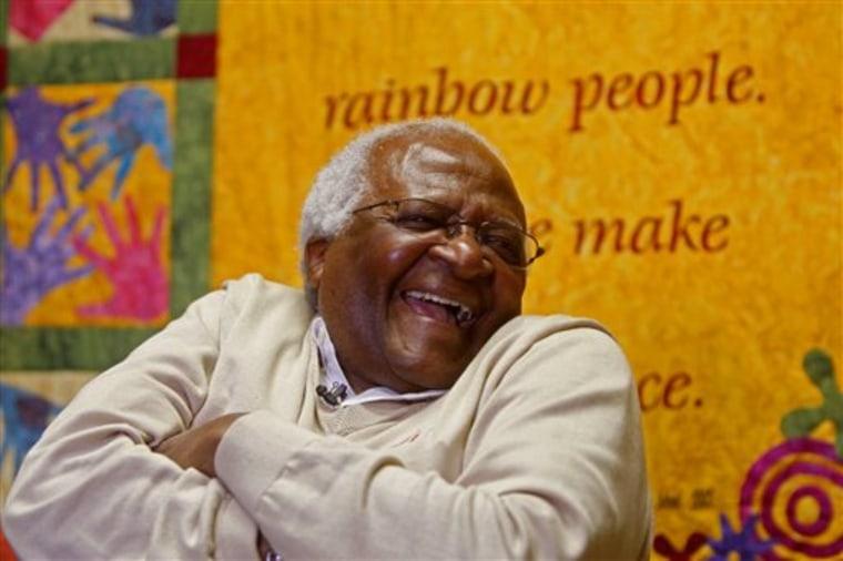 APTOPIX South Africa Nobel Obama Reax