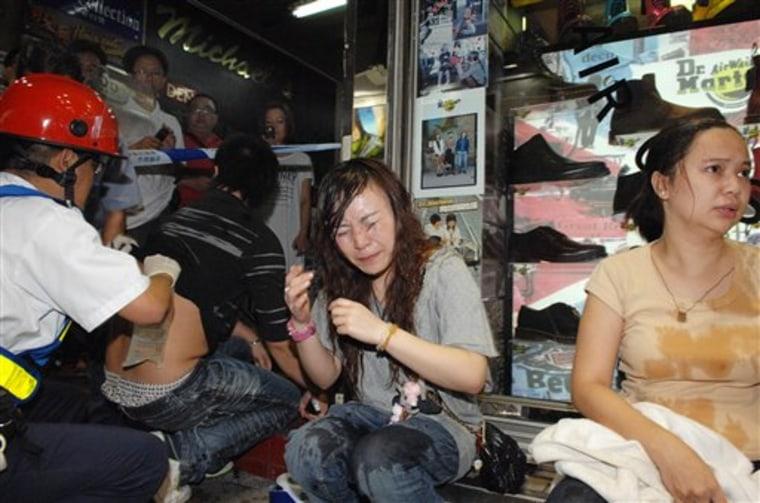 Hong Kong Acid Attack