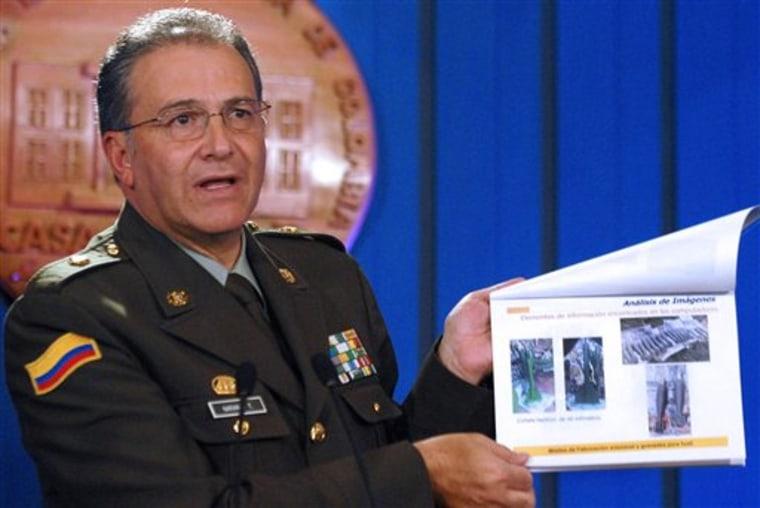 Colombia Chavez Farc
