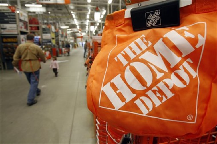 At Home Depot Inc., sales are being driven by small repair projects, not big renovations, and weak spending has caused it to cut revenue forecasts for the year.