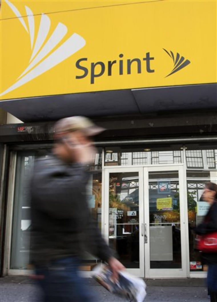 Sprint Nextel gained subscribers in its latest quarter, the first such gain in three years, as it continued to improve customer service and retention, the company said.