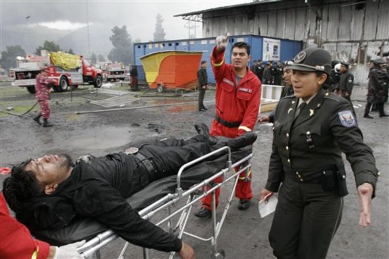 Ecuador Fire