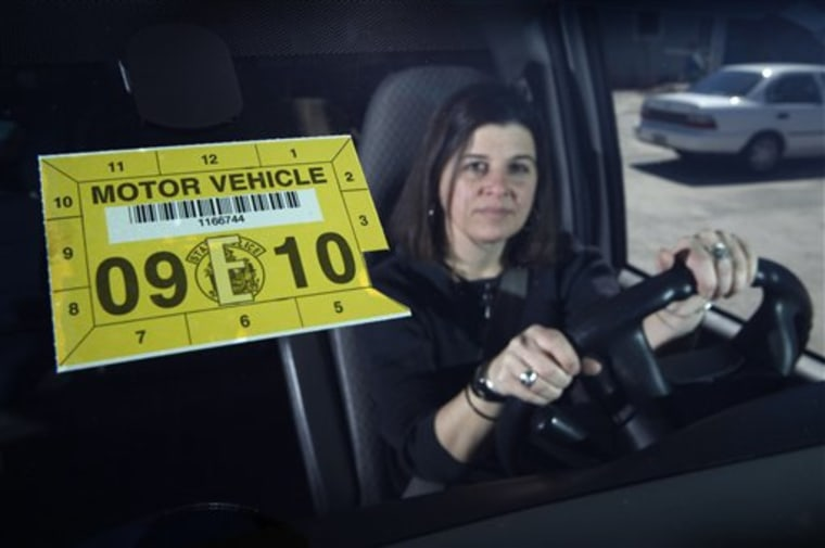 Inspection Sticker Thefts