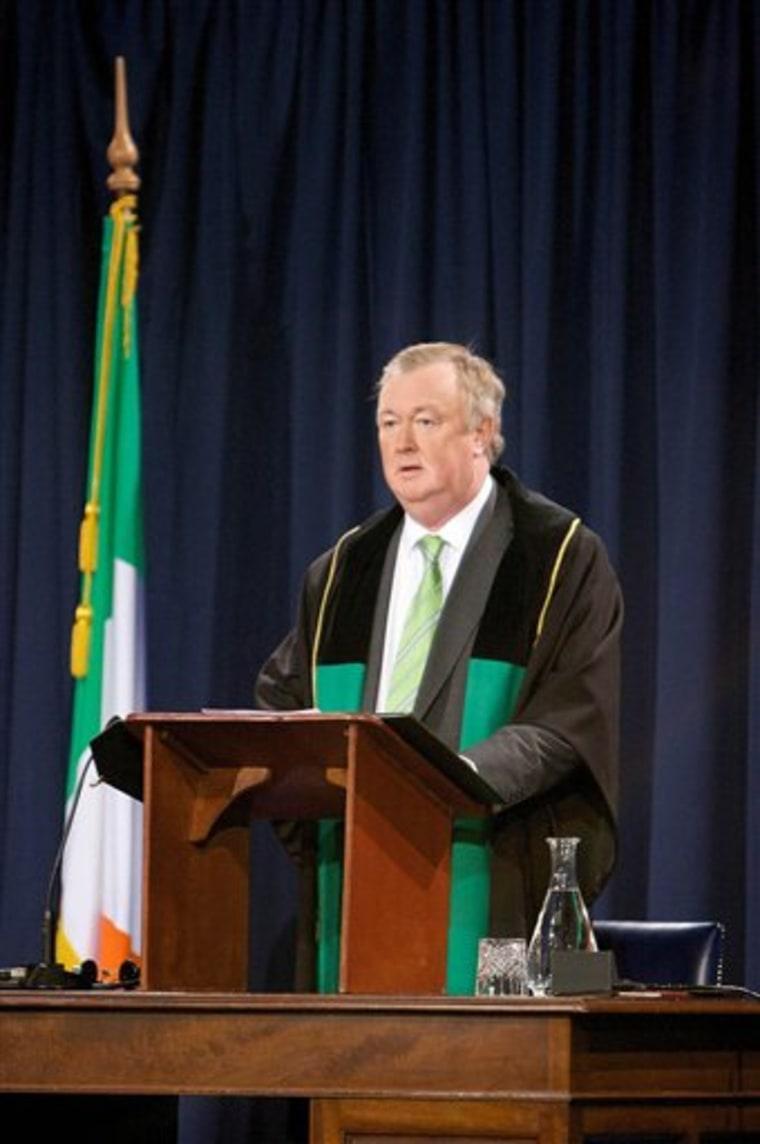 IRELAND SPEAKER SCANDAL