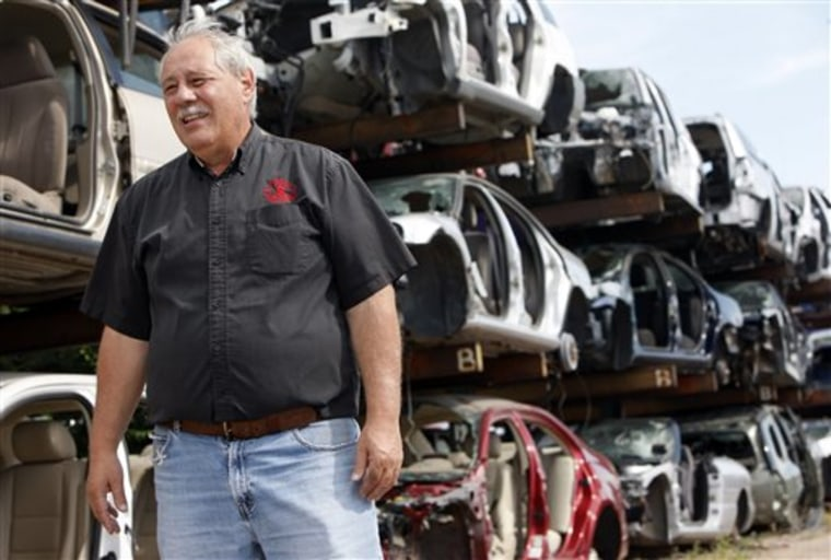 Recycling Clunkers For Cash