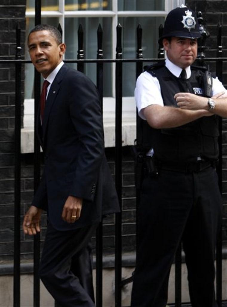 Britain Obama