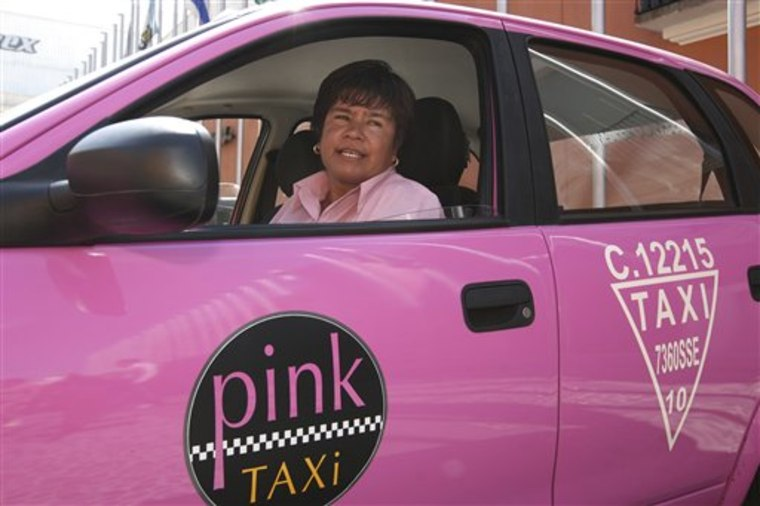 Mexico Pink Taxis