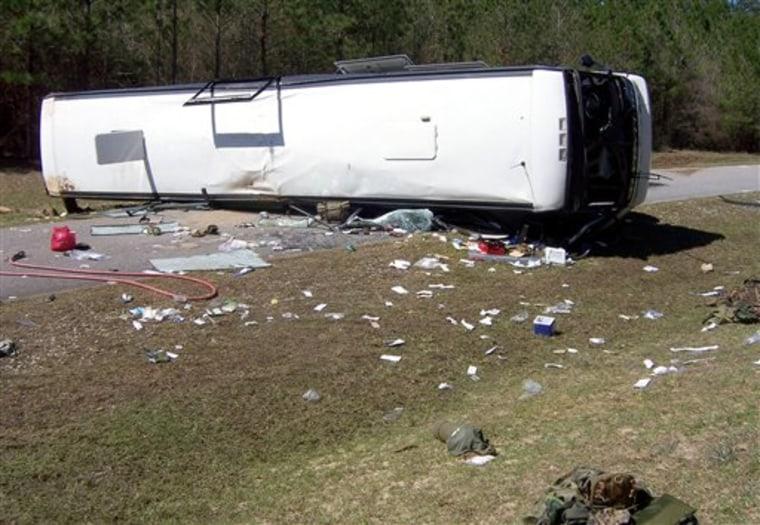 Marines Bus Crash
