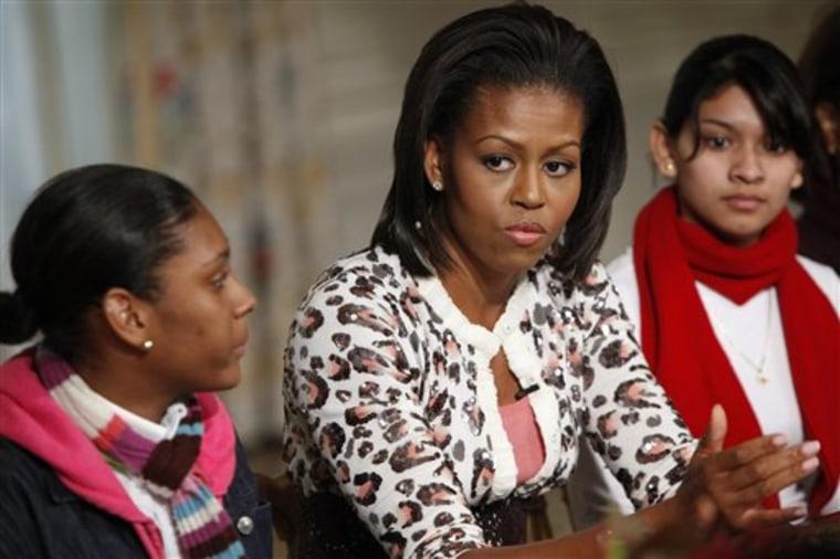 Michelle Obama Mentoring