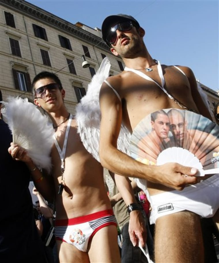 ITALY ROME GAY PRIDE