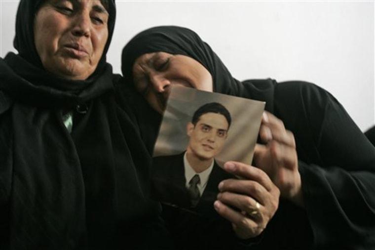 MIDEAST ISRAEL PALESTINIANS ATTACKER'S GIRLFRIEND