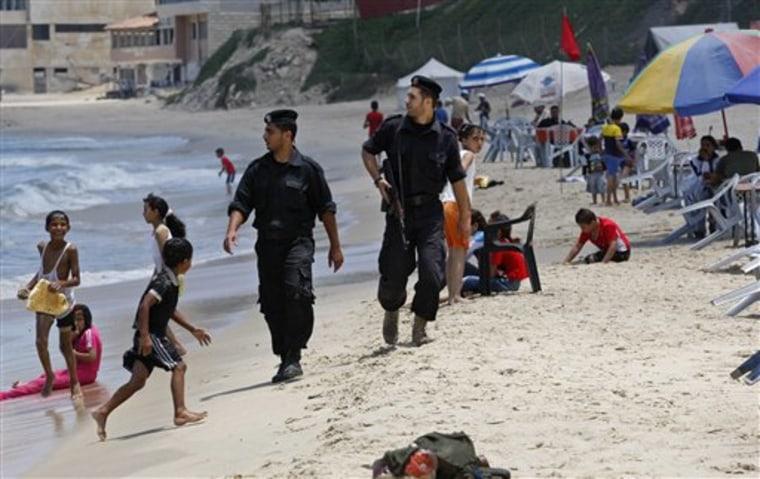 MIDEAST ISRAEL PALESTINIANS MORALITY POLICE