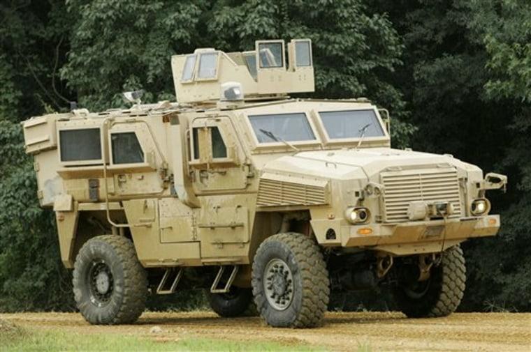 Marines MRAP Deadly Delay