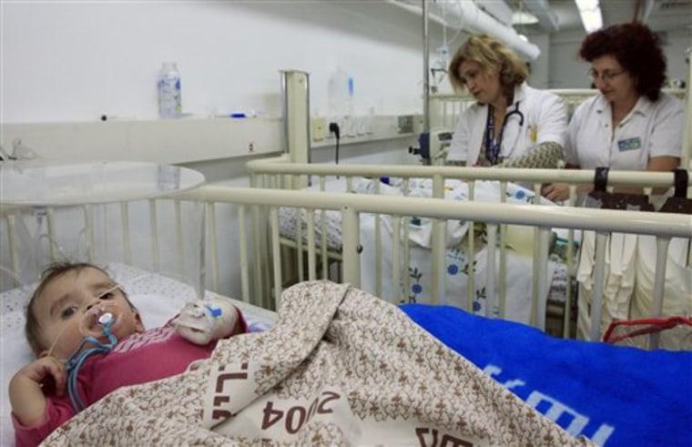 MIDEAST ISRAEL PALESTINIANS UNDERGROUND HOSPITAL