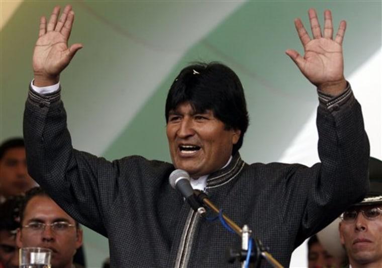 LT Bolivia Morales