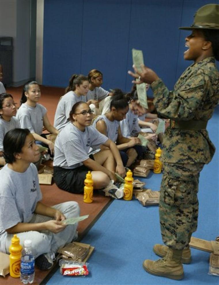 Marine Recruits