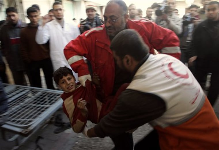 Palestinians Gaza Medics