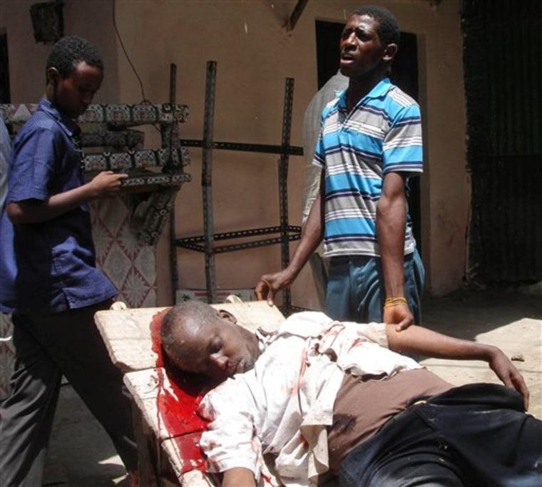 SOMALIA FIGHTING