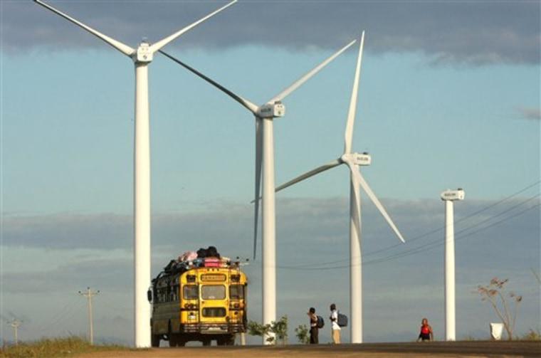 Nicaragua Wind Power
