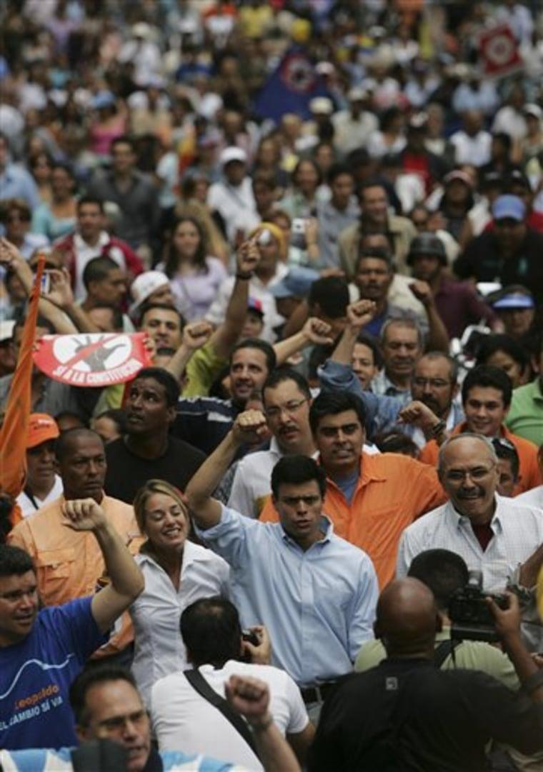 Venezuela Chavez's Power