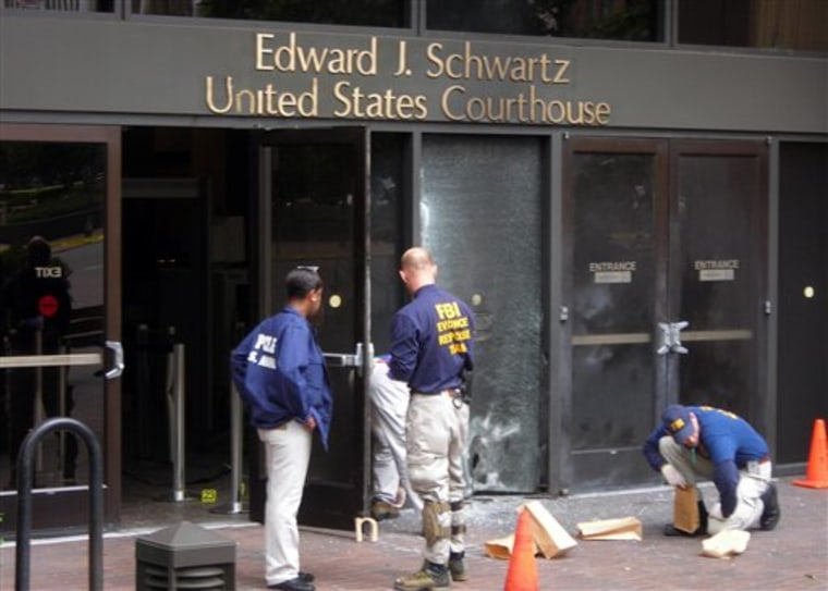 Courthouse Explosion