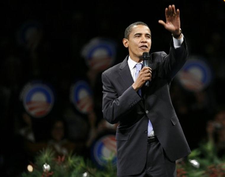 Obama 2008 Democrats Courting Iowa