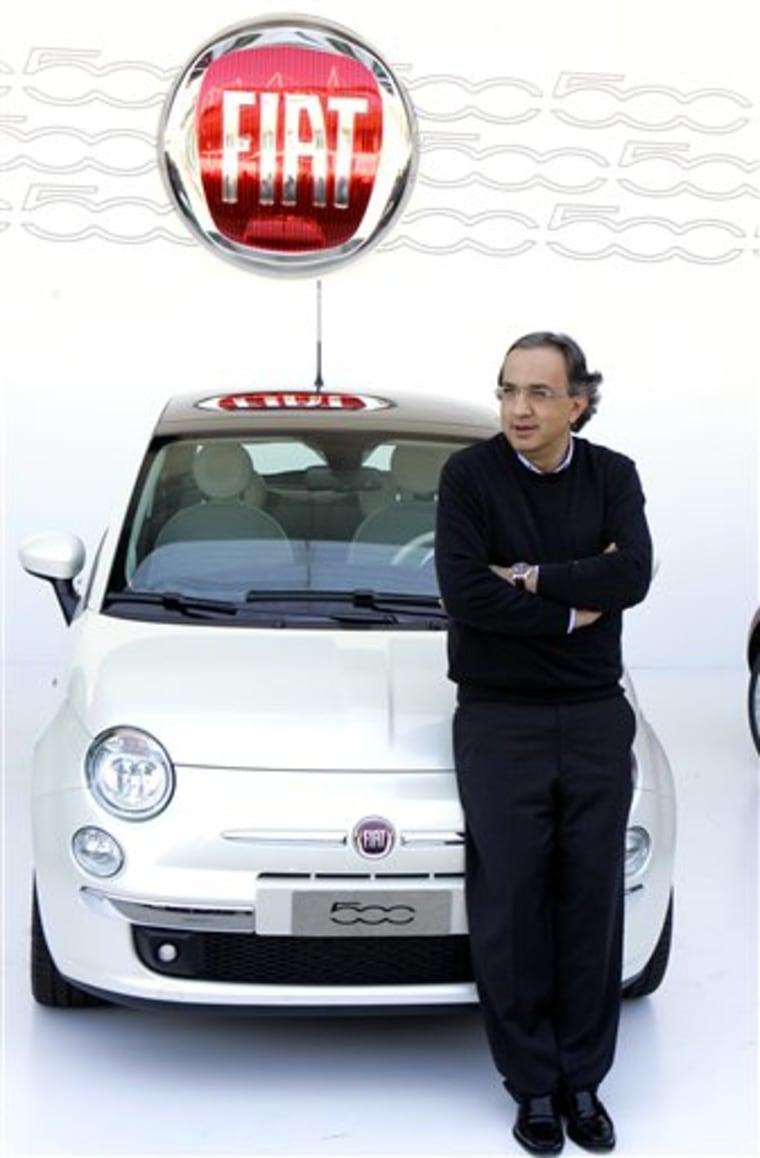 ITALY CAR FIAT 500