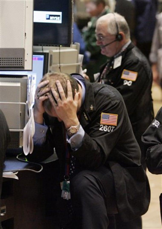 Decades End Wall Street