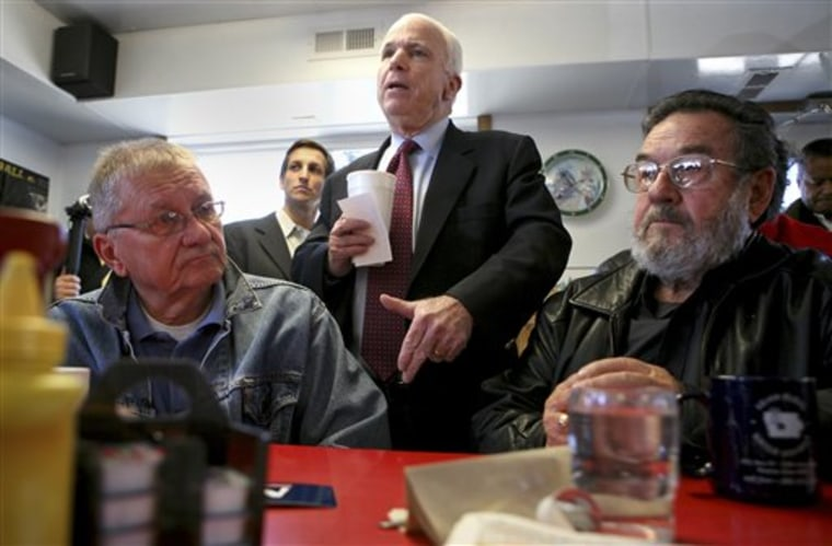 McCain 2008 Political Play of the Day