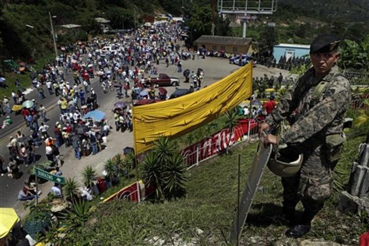 Honduras Coup