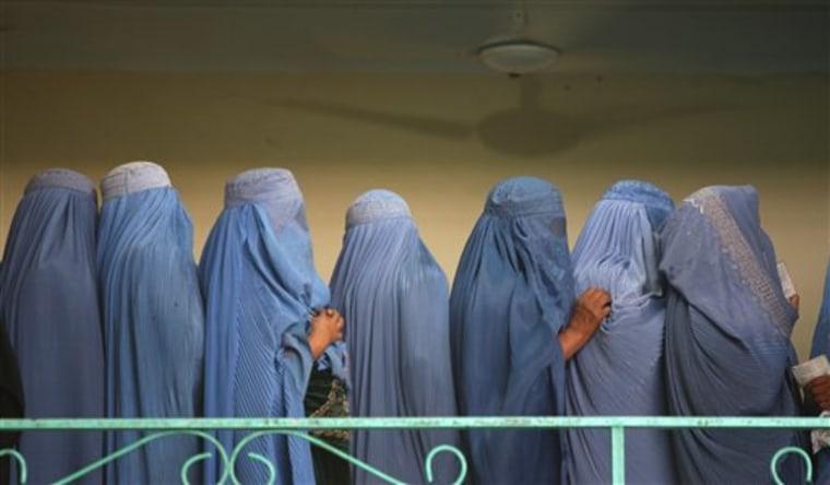 Afghan Election Women