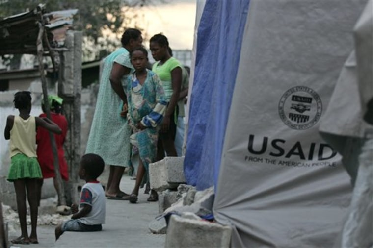 Last month's catastrophic earthquake has raised a familiar predicament for aid organizations — how to help without undermining Haiti's fragile economy.