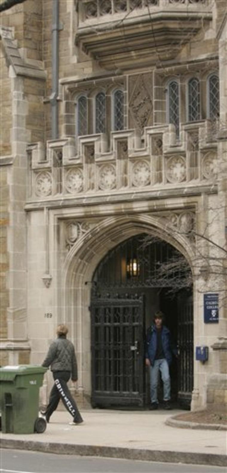 Yale Shower Sex