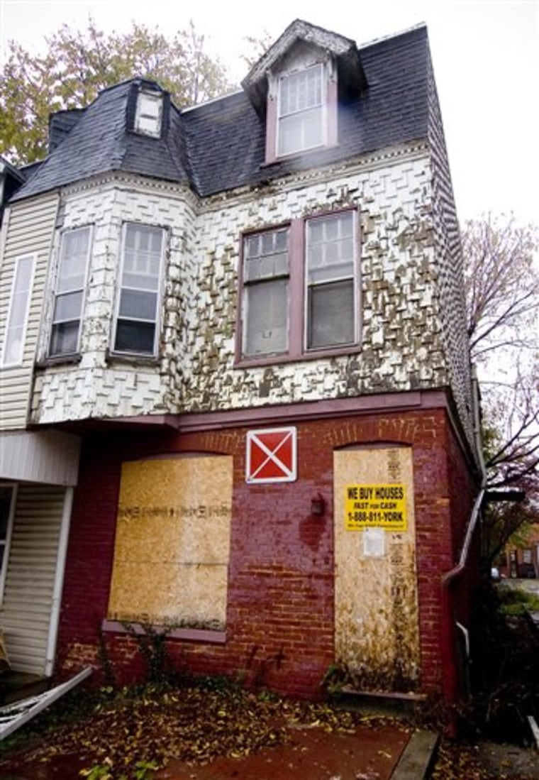 This is reportedly the home where young siblings were allegeldy living in squalor and secrecy in York City, Pa. According to court records there are five sibblings, ranging in age from about 2 to 13 years old, all the children of Sinhue A. Johnson and Louann E. Bowers. The children are now in foster care, and their parents are in York County Prison, charged with child endangerment.