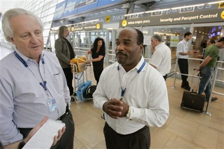 MIDEAST ISRAEL AIRPORT SECURITY