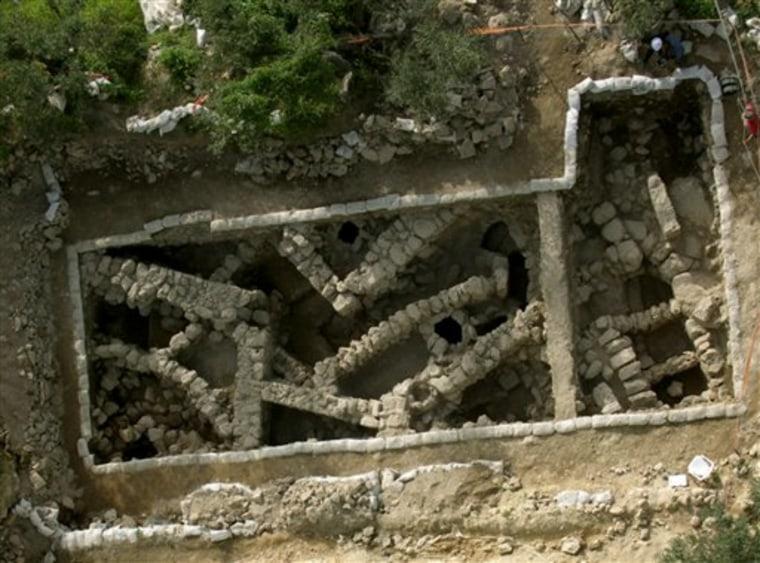 MIDEAST ISRAEL ANCIENT HIDEAWAYS