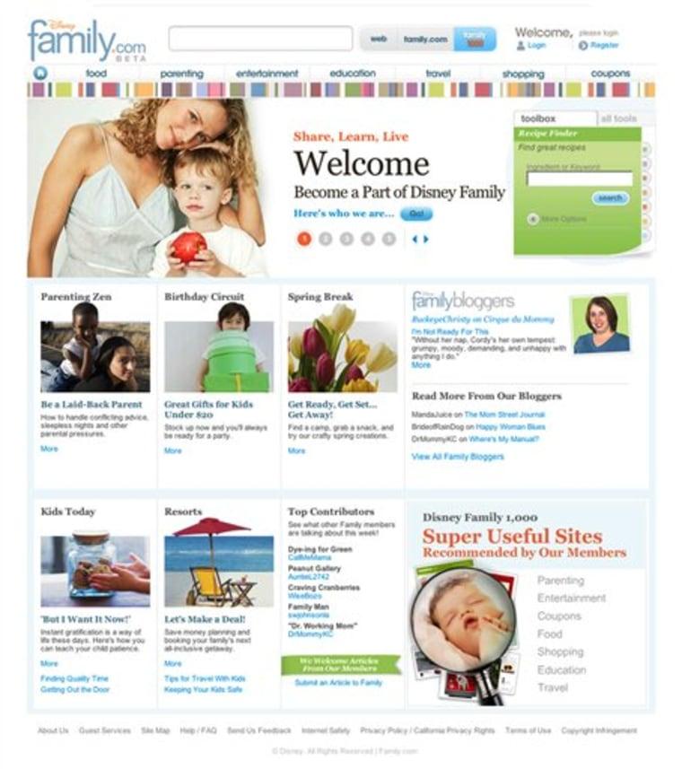 DISNEY FAMILY.COM