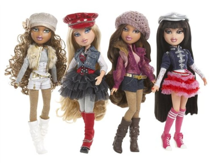 The new Bratz have less makeup and more ample clothing and are more flexible than earlier versions, said MGA CEO Isaac Larian.