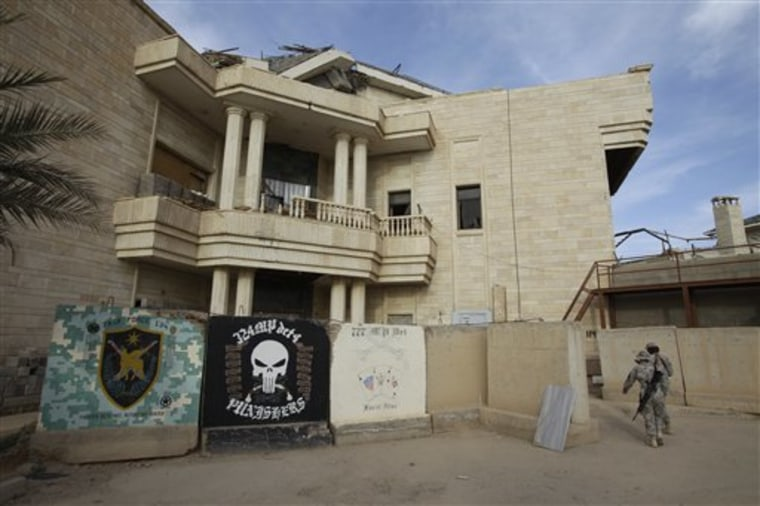 This Saddam Hussein palace in Baghdad also served as his jail cell after his capture.