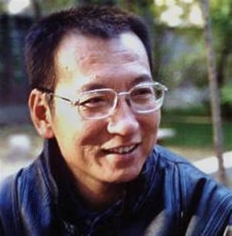 Chinese dissident Liu Xiaobo won the 2010 Nobel Peace Prize Friday.