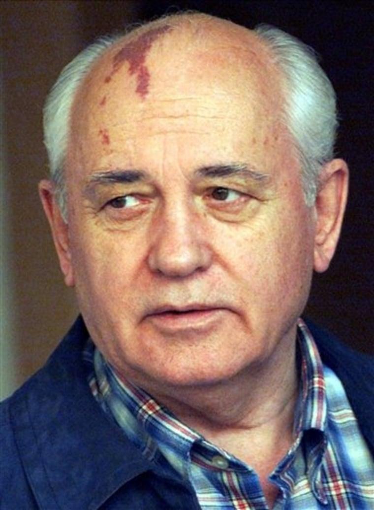 RUSSIA GORBACHEV HACKERS