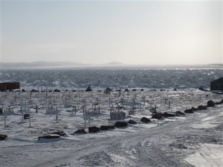 CANADA WARMING ARCTIC