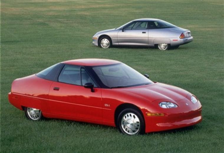 GM ELECTRIC CAR