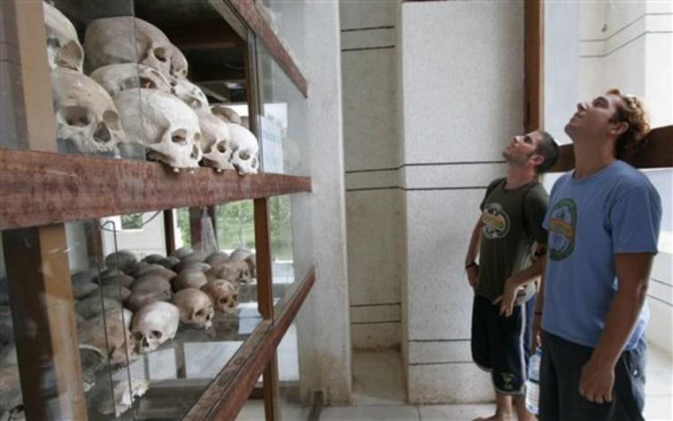 CAMBODIA GENOCIDE TOURISM