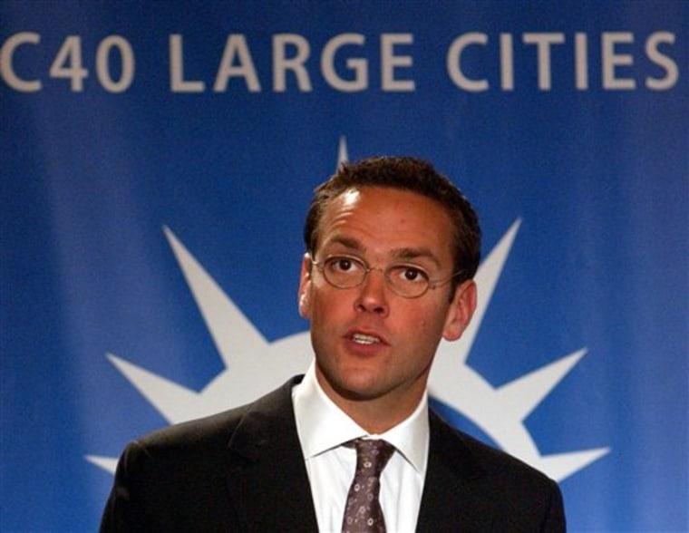 James Murdoch was appointed News Corp.'s chairman and chief executive for Europe and Asia.