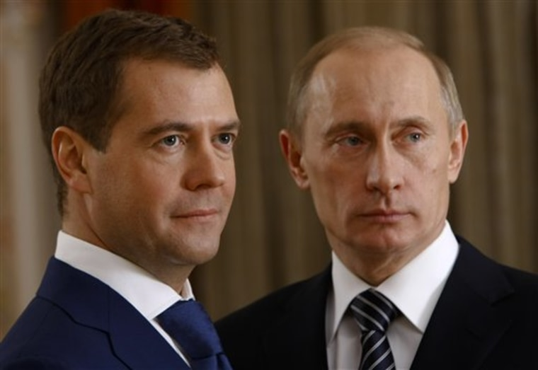 Russia Medvedev's Challenge