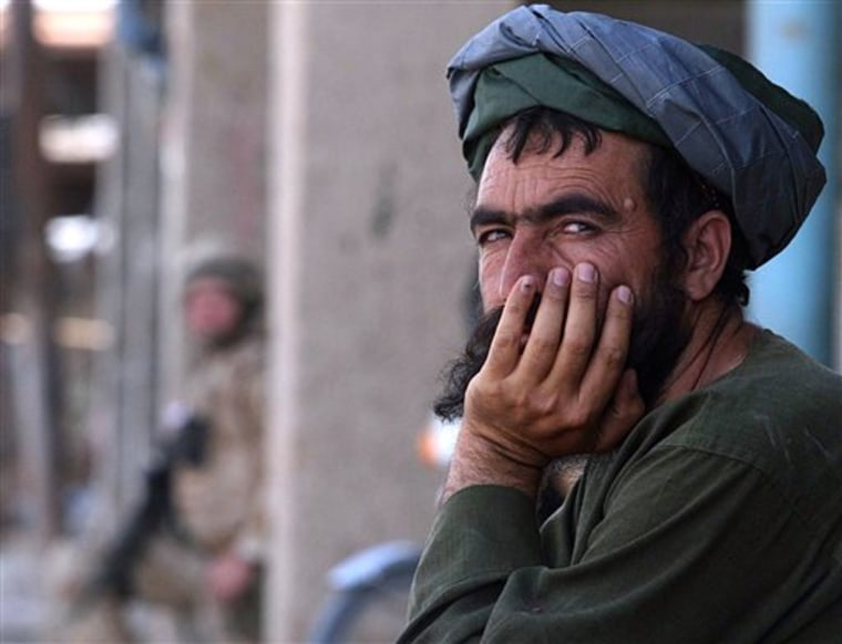 AFGHANISTAN TRAPPED TALIBAN