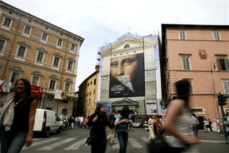 ITALY DA VINCI POSTER