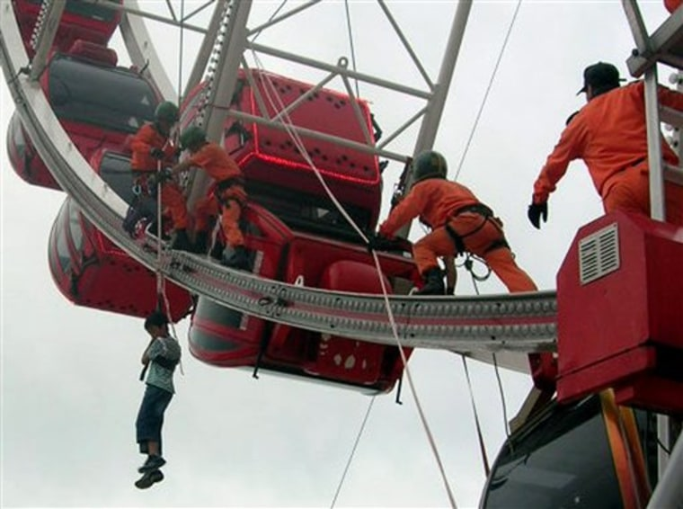South Korea Ferris Wheel Accident