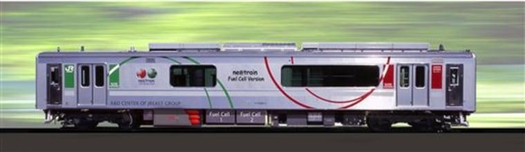 JAPAN HYBRID TRAIN
